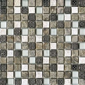 L'antic Colonial Mosaico мозаика Tecno Quarz Emerald 2,1x2,1 29.6*29.6