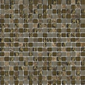 L'antic Colonial Mosaico мозаика Eternity Emperador 1,5x1,5 29.7*29.7