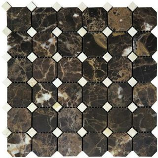 Natural Mosaic Octagon 1 (Мрамор) M022-M030-BP