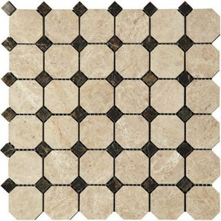 Natural Mosaic Octagon 1 (Мрамор) M036+M022-BP