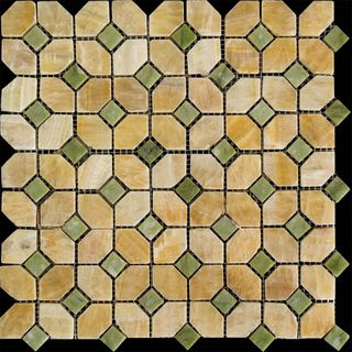 Natural Mosaic Octagon 2 (Мрамор) мозаика M073+M068-DP9 30*30