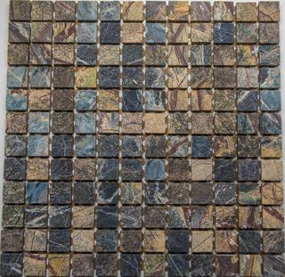 Altra mosaic Marble мозаика Forest Green A/M 32.7*32.7