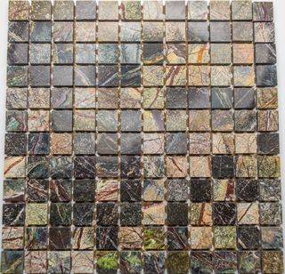 Altra mosaic Marble мозаика Forest Green A/Р 32.7*32.7