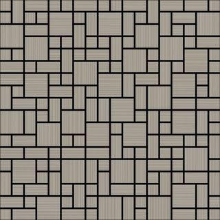 Love ceramic tiles (Novagres) Emma Mosaic Earl Grey Crunch