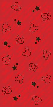 Azteca Disney Mickey&Friends Wd Hands Friends Red