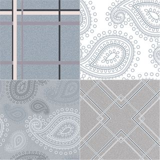 Dual Gres Paisley Paisley Gris