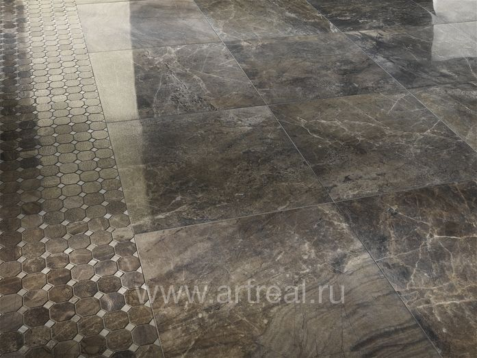 Керамогранит Cisa Royal Marble в интерьере
