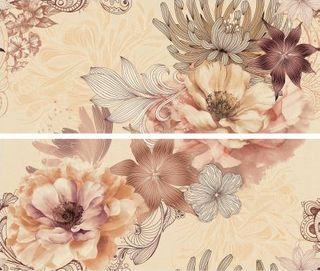 Azulejos alcor Valpolicella Decor/2 Bouquet Nature