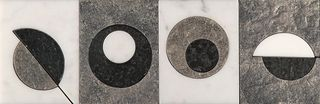 Skalini Metal Stone Modern Circle 6 (MC-6)