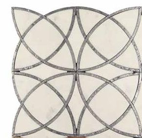 Scalini Metal Stone Alcamo (White)-5/2 (ACM (W)-5/2)