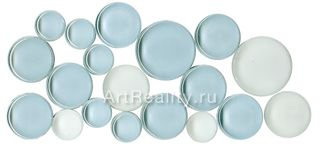 Bars Crystal Mosaic Круглая мозаика FHT 30