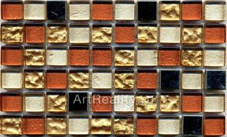 Bars Crystal Mosaic Миксы с металлом GHT 17