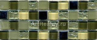 Bars Crystal Mosaic Миксы с металлом GHT 15