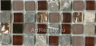Bars Crystal Mosaic Миксы с металлом мозаика HSO 192 30*30
