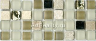 Bars Crystal Mosaic Миксы с металлом мозаика GHT 46 30*30