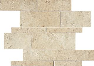 ABK Petraia мозаика Mosaico Brick Mix Almond 1 33.3*33.3