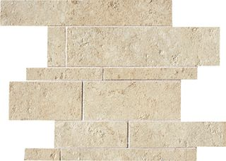 ABK Petraia мозаика Mosaico Brick Mix Almond 2 33.3*33.3