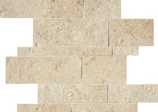 ABK Petraia мозаика Mosaico Brick Mix Almond 3 33.3*33.3