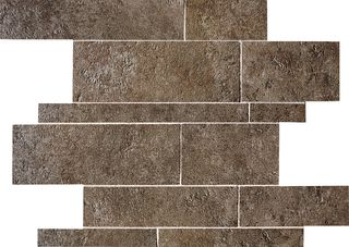 ABK Petraia мозаика Mosaico Brick Mix Nero 3 33.3*33.3