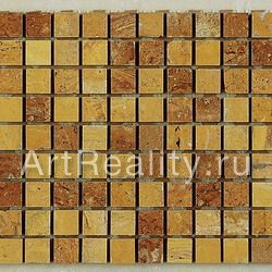 Art&Natura Marble Mosaic Travertino Giallo