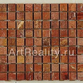 Art&Natura Marble Mosaic Red Travertine