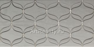 Vitra Ethereal Platinum Geometric Decor L. Grey Parlak Glossy K082222
