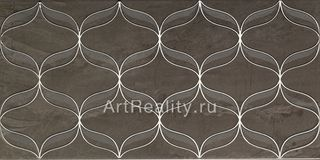 Vitra Ethereal Platinum Geometric Decor Grey Parlak Glossy K082233