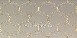 Vitra Ethereal Gold Geometric Decor L. Beige Parlak Glossy K082255