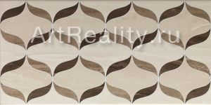 Vitra Ethereal Geometric Mix Decor Brown L. Beige Parlak Glossy K927965