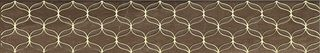 Vitra Ethereal Geometric Gold Border Brown Parlak Glossy K083596