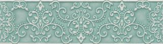 Atlantic Tiles № 5 Cenefa Tiffany Esmeralda