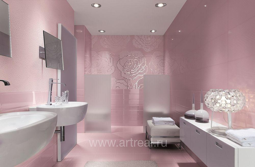 Light pink bathroom rugs