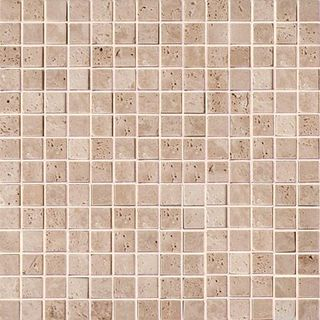 Colori Viva Natural Stone Natural Stone Mos.Turkish Travertine Tumbled+Sealed