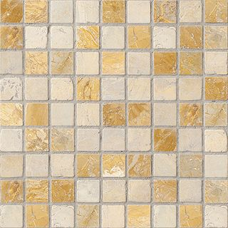 Colori Viva Natural Stone Natural Stone Mos. Nat./Polished Golden Travertin