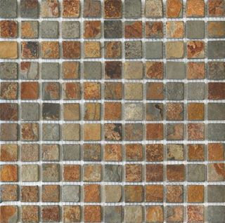 Colori Viva Natural Stone Natural Stone Mos. Nat. China Rusty