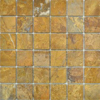 Colori Viva Natural Stone Natural Stone Mos. Polished Golden Travertin