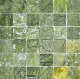 Colori Viva Natural Stone Stone Mos. Polished Verde Jade