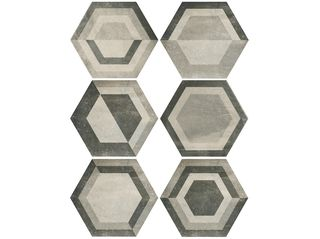 Carmen Ceramic Art Domme Lods Mix Grey