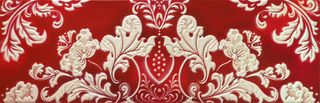 Carmen Ceramic Art Llanelli Decor Primavera Red