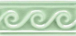 Adex Modernista Relieve Olas Verde