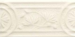 Adex Modernista Relieve Flores Marfil