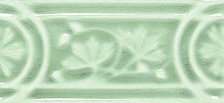 Adex Modernista Relieve Flores Verde