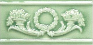Adex Modernista Relieve Corona Verde