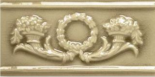 Adex Modernista Relieve Corona Olive