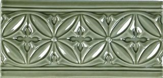 Adex Studio бордюр Relieve Gables Eucalyptus 19.8*10