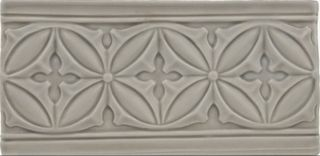 Adex Studio бордюр Relieve Gables Graystone 19.8*10