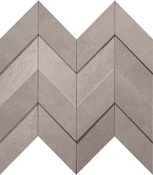 Декор Gray Chevron 3D 30.8*35.1