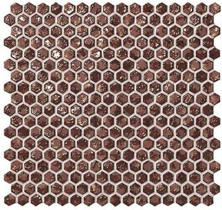 Декор Rust Hexagon Gold 30*30