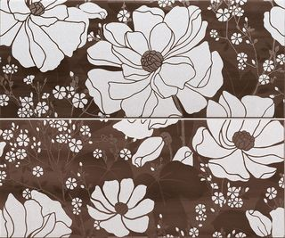 Paul Ceramiche Skyfall Inserto Shine Brown A+B