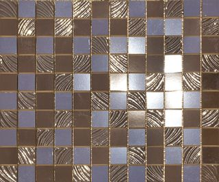 Paul Ceramiche Skyfall Mosaico Brown